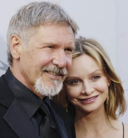 Harrison Ford'un sevgilis Calista Flockhart kendisinden 22 yaş daha genç.
